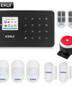 KERUI G18 NEW GSM Alarm System Security APP Wireless Home Burglar Alarm Fire Protection Motion Sensor Security Alarm DIY Kit