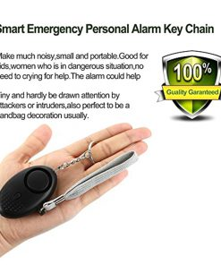 Portable Emergency Personal Security Alarms Self-Defense 130 DB Decibels With LED Light Safety Key Chain Pedant Outdoor Safety