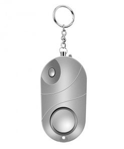2020 Self Defense Alarm Security Protect Alert Loud Scream Alarm Keychain Emergency Personal Alarms LED Light Torch Dropship