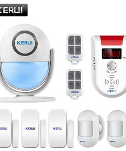 KERUI WP7 PIR Motion Sensor Security Alarm Detector Anti-theft Sensor Motion Detector Wireless Security Alarm System DIY Kit