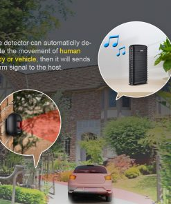 KERUI DW9 Outdoor Wireless Home Security Alarm Waterproof PIR Motion Infrared Detector Driveway Garage Vehicle Burglar Alarm