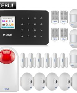 KERUI G18 wireless GSM home security alarm system burglar alarm kit mobile APP control remote control
