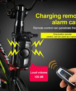 Wireless Bike Anti-Theft Alarm Remote Control Motorcycle Bicycle Security Alarm 150 DB Electric Car Alarm Sensor Dropshipping